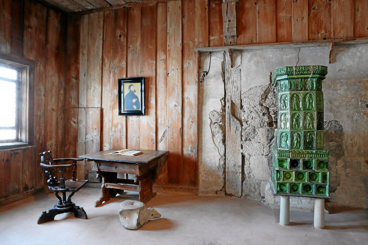 Luther's room at the Wartburg, Germany. Photo: Wartburg-Stiftung Eisenach