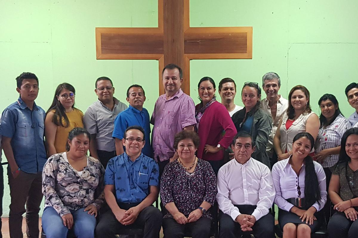 Participants at the LWF advocacy training workshop in San José, Costa Rica, 14-16 July. Photo: LWF/F. Wilches