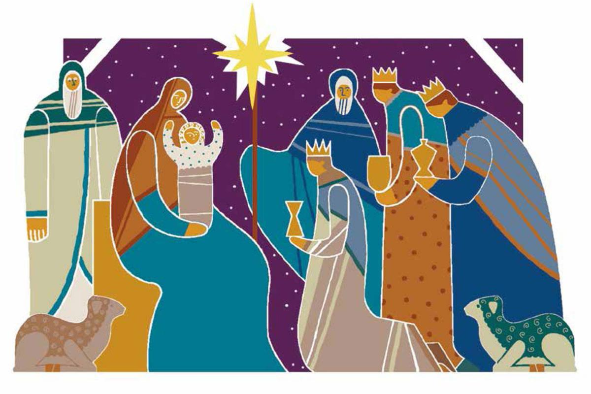 Illustration by Volha Prankevich on behalf of Annenkirche (the Church of St. Anna), Evangelical Lutheran Church of Ingria in Russia.