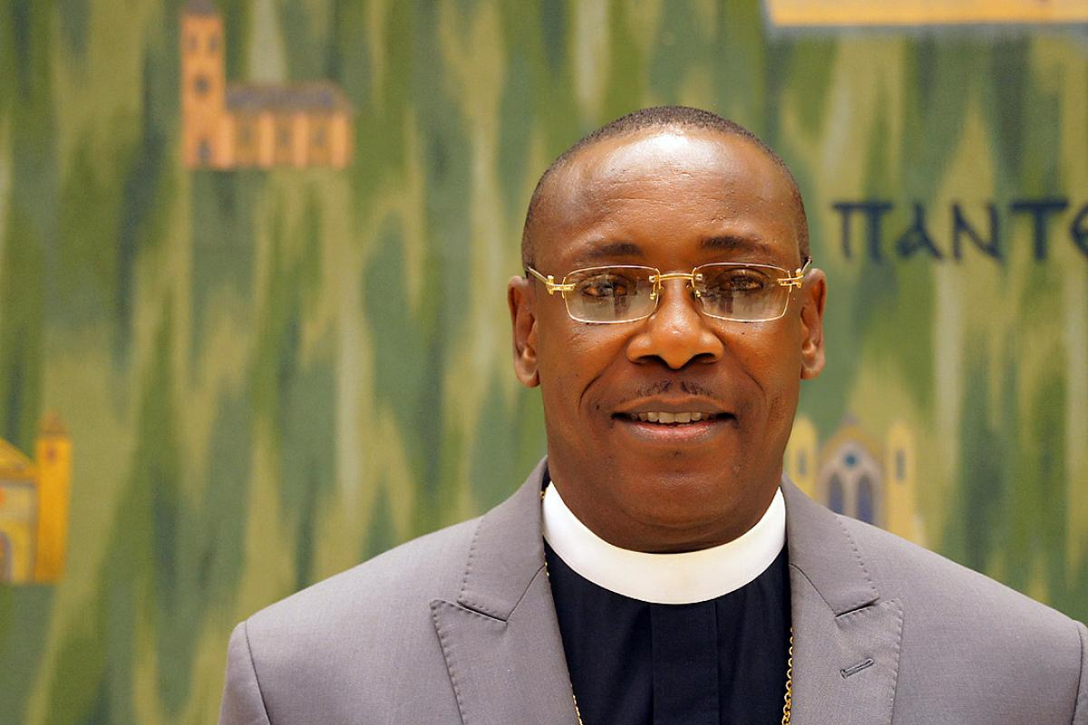 Lutheran Church of Nigeria Archbishop Christian Ekong. Photo: LWF/S. Gallay