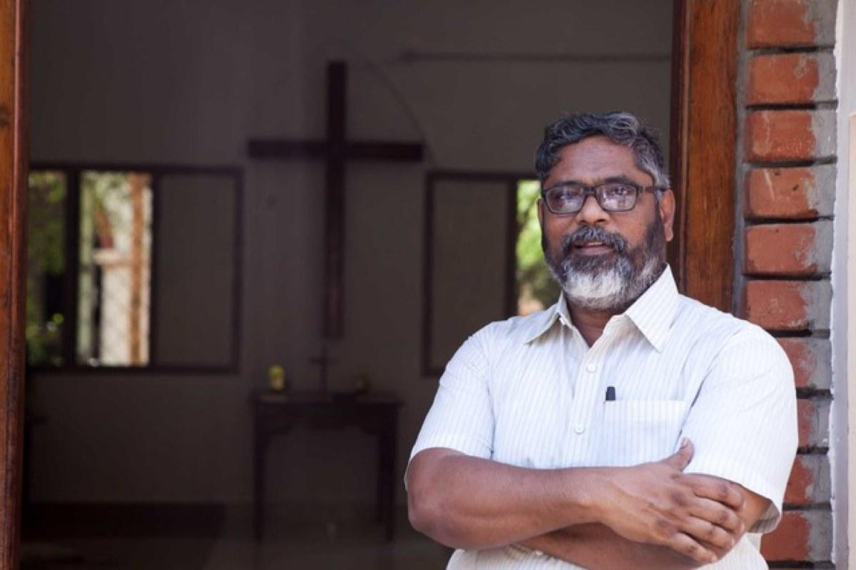 "The executive secretary of the United Evangelical Lutheran Churches in India, Rev. Joshuva Peter, says the disease ""is exposing once again India's deep economic divide"" with the country's poorest people being hardest hit by restrictions aimed at curbing the spread of infections. Photo: Vinod Baluchamy/UELCI."