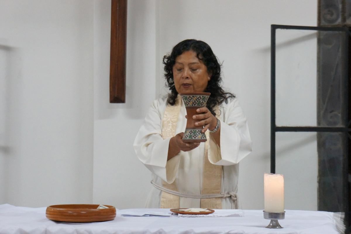 Pastor President Adita Torres Lescano of the Lutheran Church of Peru. Photo: LWF/P.Cuyatti