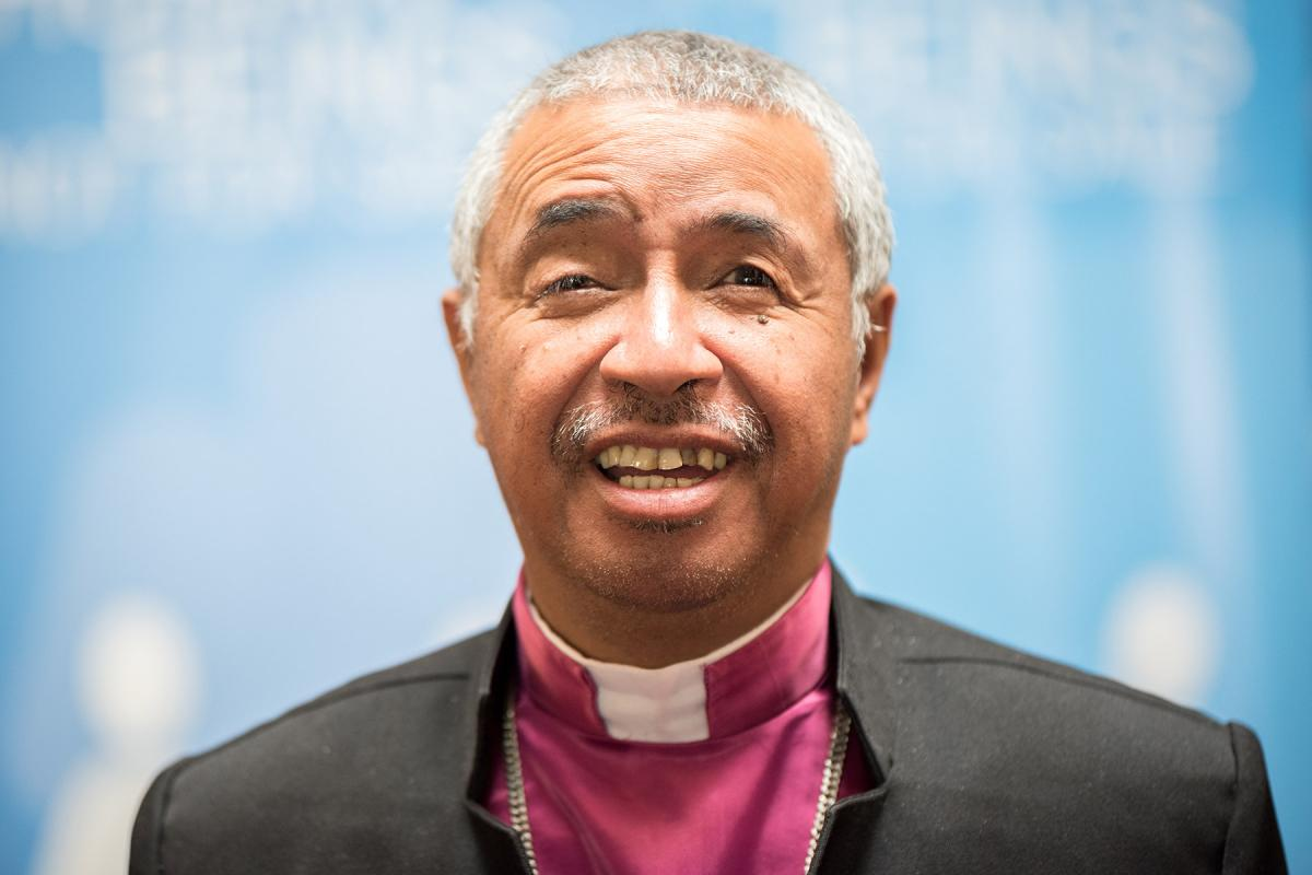 Rev. Dr David Rakotonirina, President, Malagasy Lutheran Church Photo: LWF/Albin Hillert