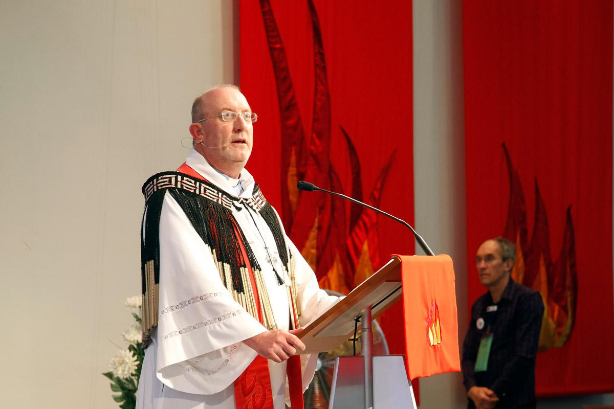 New Zealand Lutheran Bishop Mark Whitfield. Photo: LCNZ