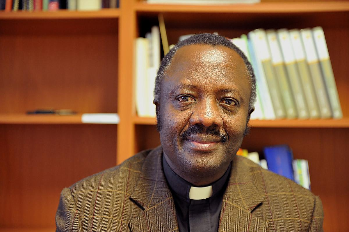 Rev. Dr. Fidon Mwombeki, new general secretary elect of the All Africa Conference of Churches. Photo: LWF/S.Gallay