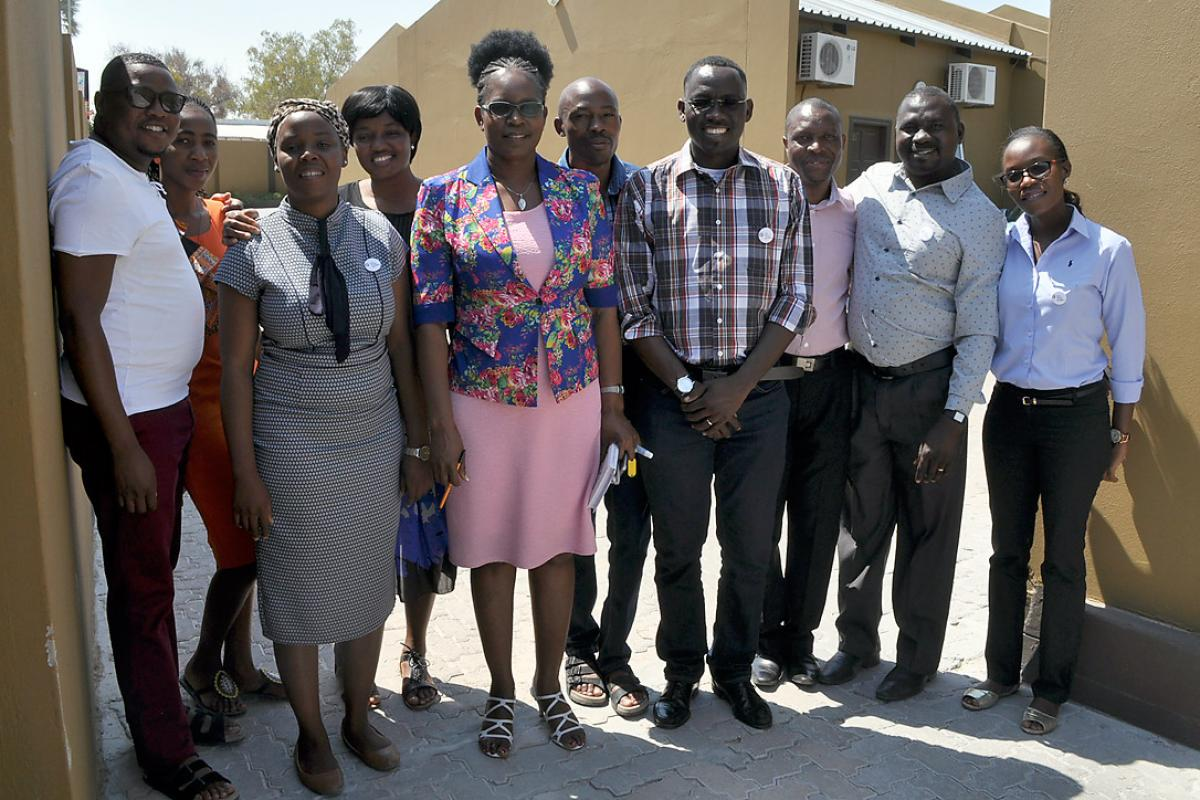 Members of the local planning team for the LWF Youth pre-Assembly. Photo: LWF/ C.Bader