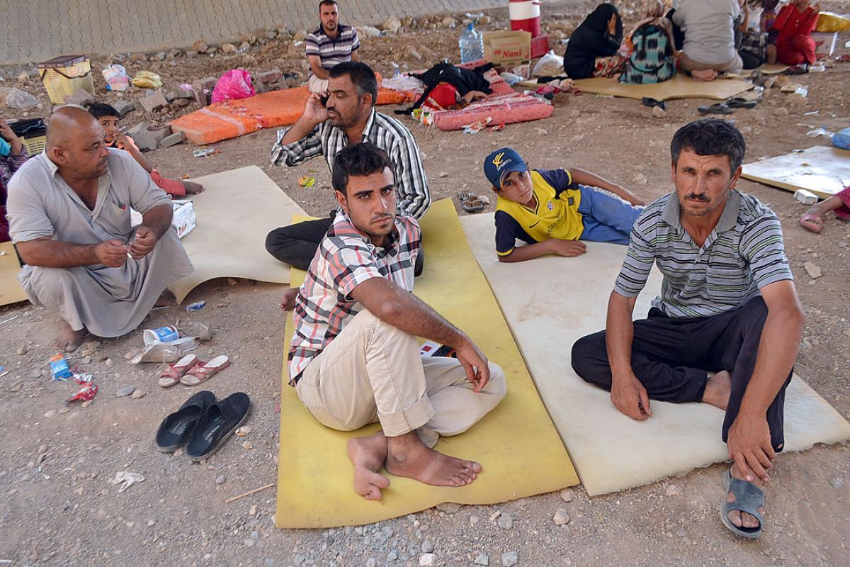 """IDPs in Dohuk, Iraq. Photo: <a href=""""http://www.ankawa.com/"""">ankawa.com</a>"""