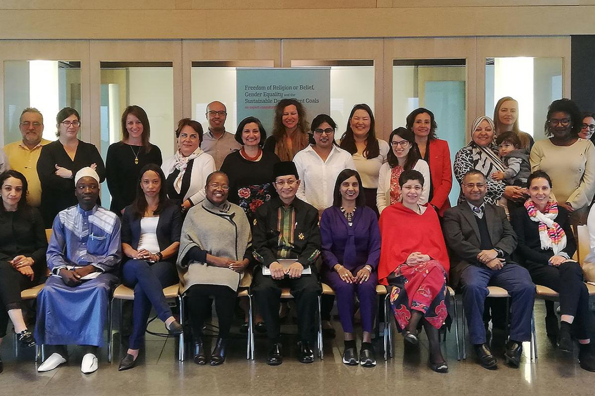 Participants at the Oslo workshop on Freedom of Religion and Gender Equality. Photo: Stefanus Alliance