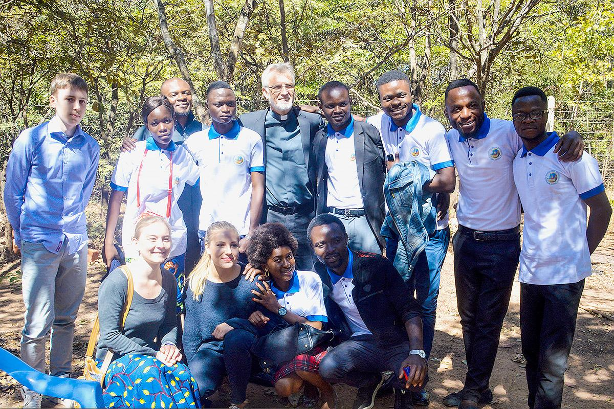 LWF General Secretary Rev. Dr Martin Junge joins young reformers from ELCCo and other churches.