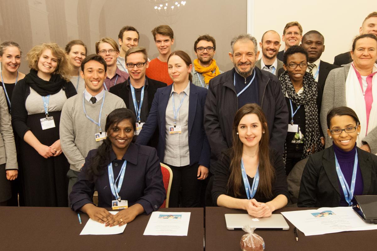 LWF Delegation to COP19. Photo: LWF/Sean Hawkey