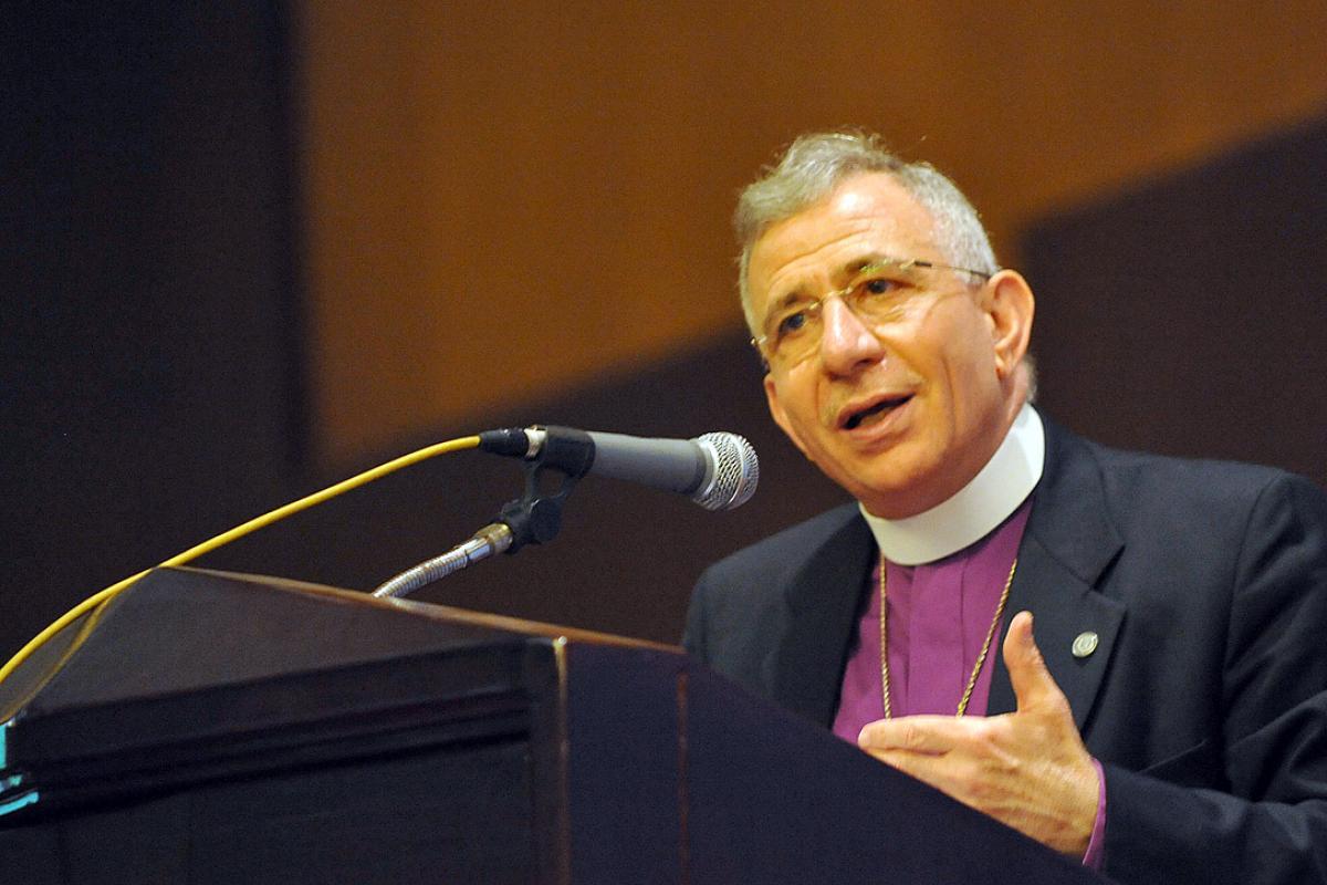 Bishop Dr Munib A. Younan. Photo: LWF/M. Renaux