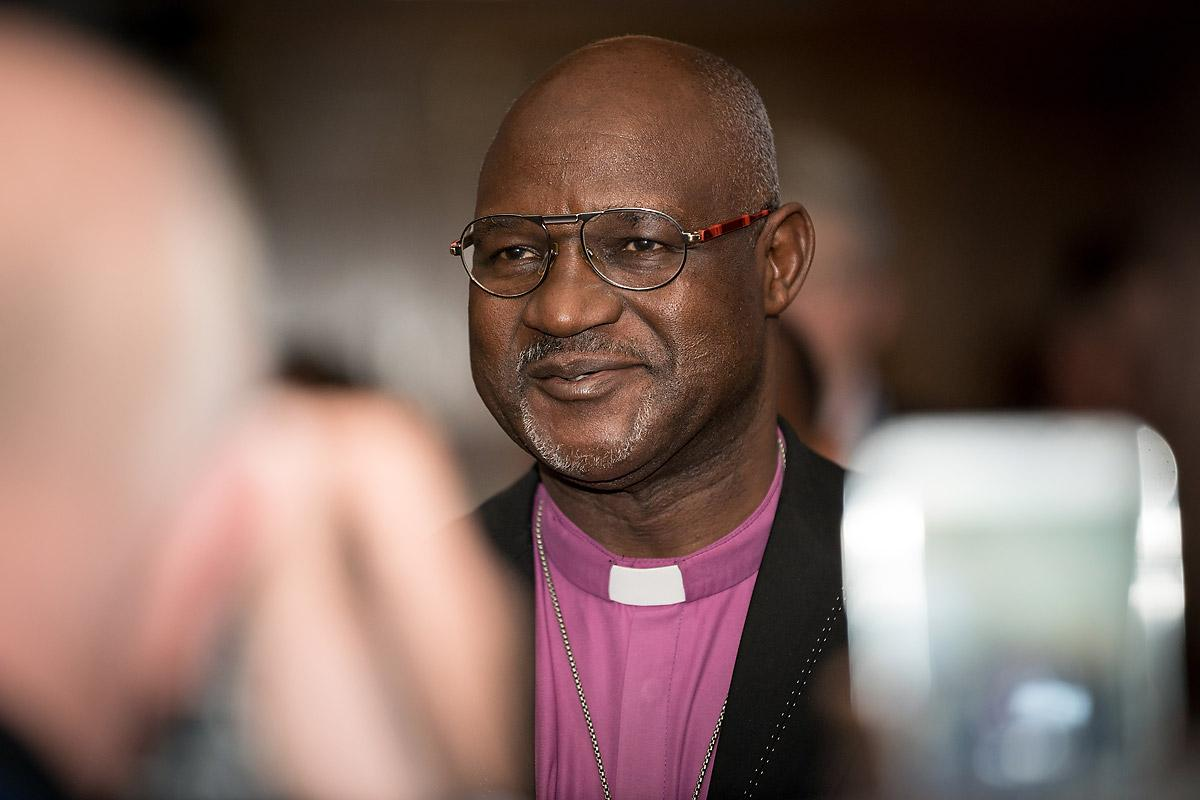 Archbishop Musa Panti Filibus, president of the Lutheran World Federation. Photo: LWF/Albin Hillert