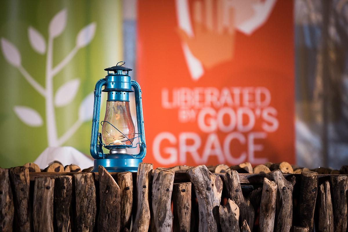 Lantern on Reformation Assembly 2017. Photo: LWF/Albin Hillert