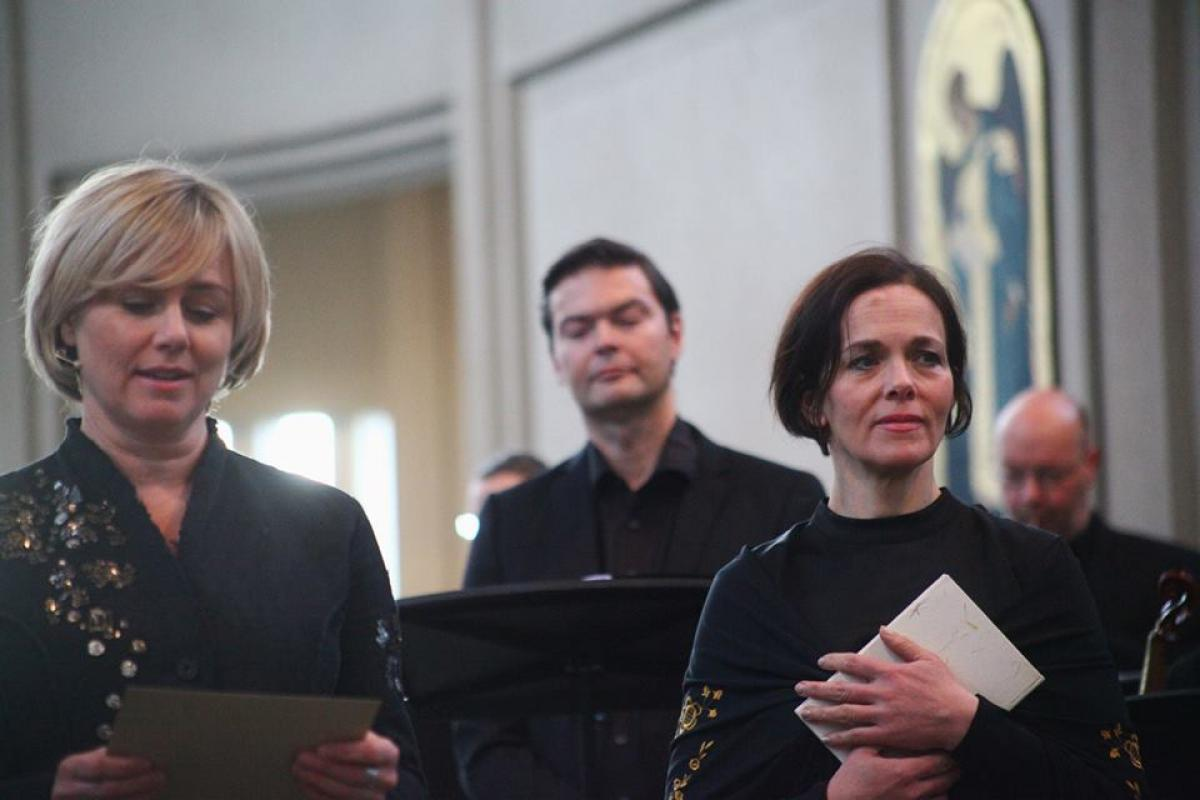 """The musical theatre production """"Elisabeth and Halldóra - Bach and Grallarinn"""" tells the history of the two women of the Reformation who challenged norms and opinions on the roles of women in society and the church. Photo: LWF/Gylfi Jonsson"""