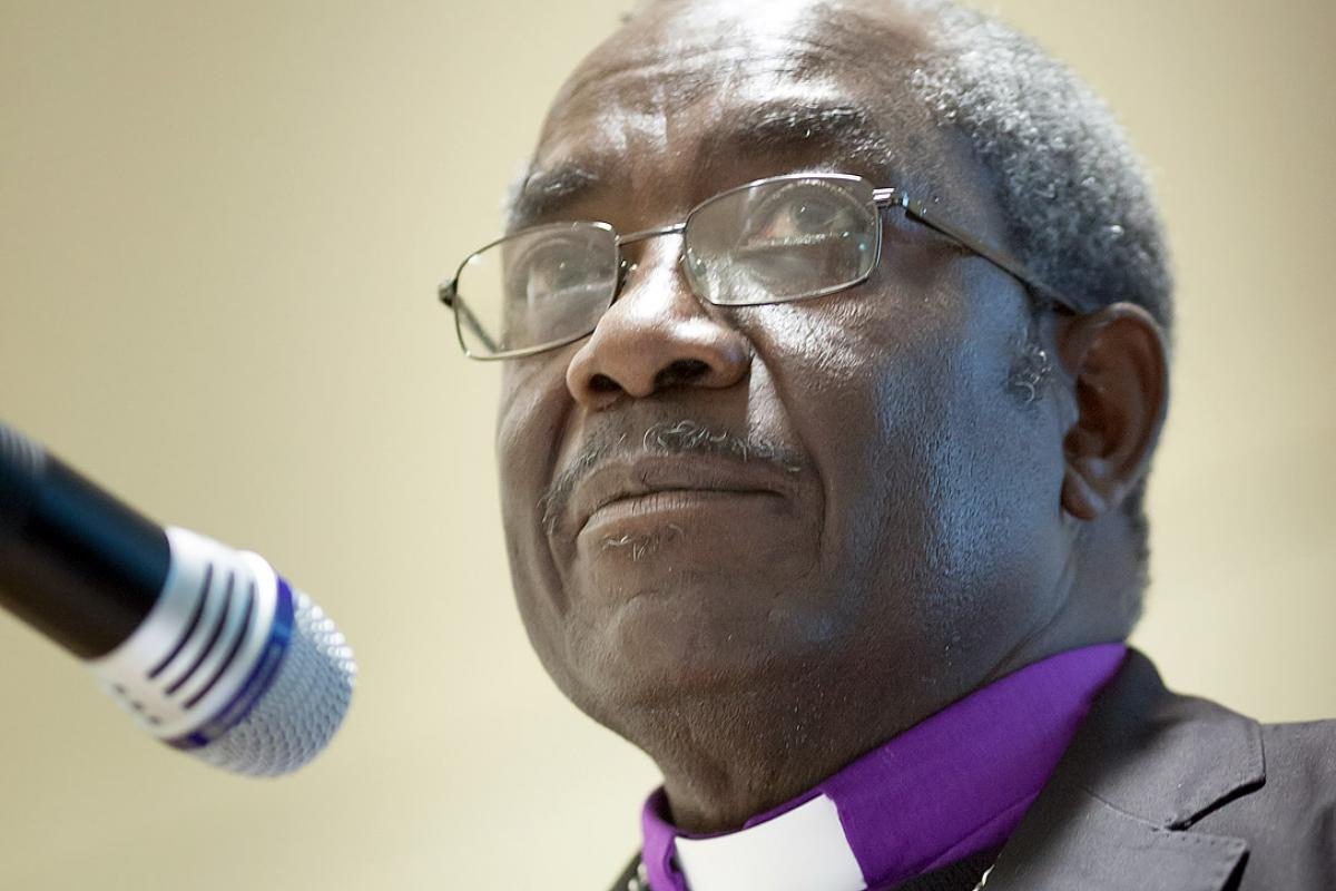Bishop Dr Shekutaamba V. V. Nambala. Photo: Anja Martin