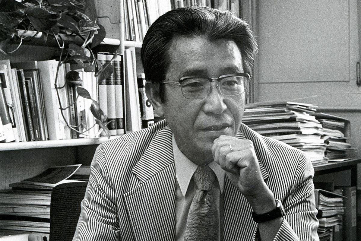 Rev. Dr Yoshiro Ishida, 1928-2015. Photo: LWF/Marc von Appelghem