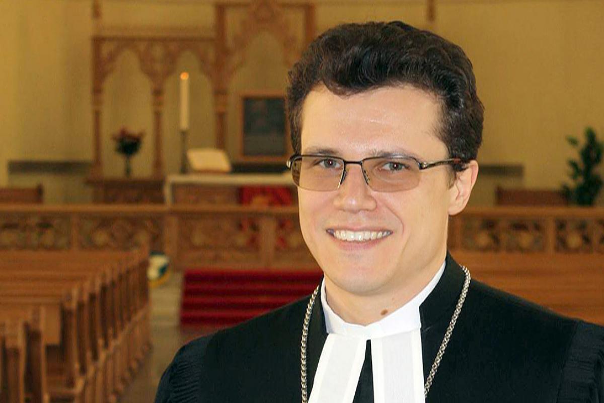 Archbishop Dietrich Brauer. Photo: ELCROS
