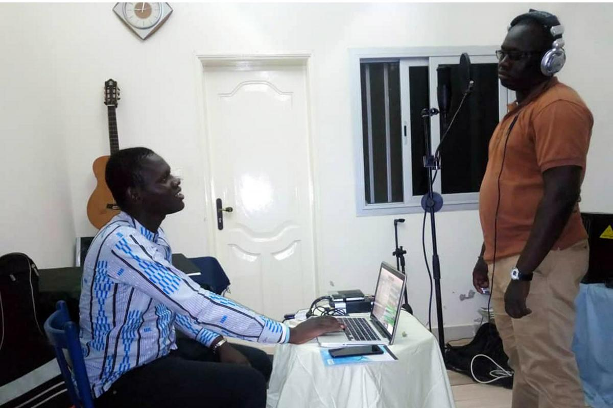Team Relax provided a media need for Lutheran pastors when COVID-19 restrictions closed church doors in Senegal. Photo: by Team Relax