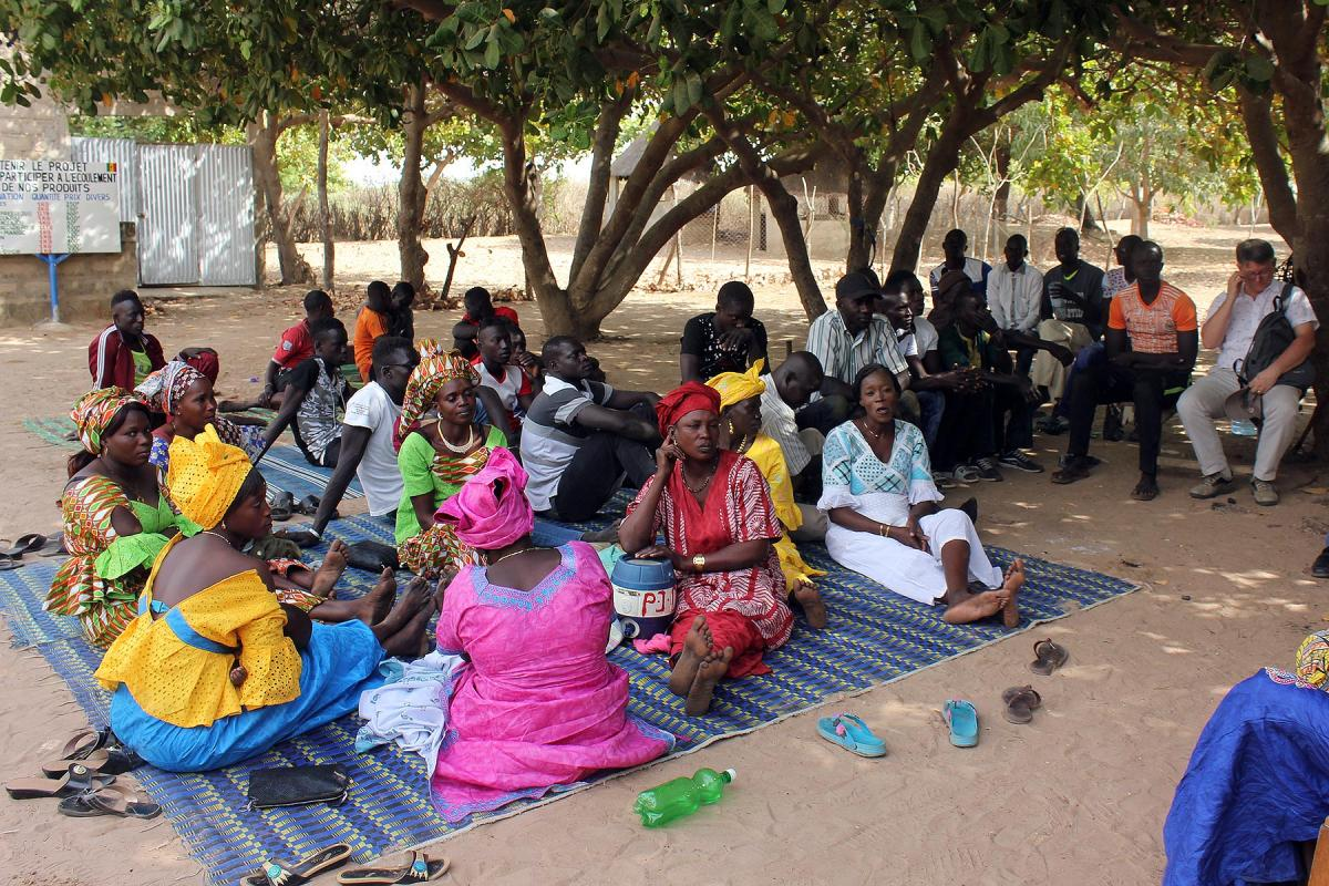The Lutheran Church of Senegal in the West African country is visible through various church programs. All Photos: UEPAL