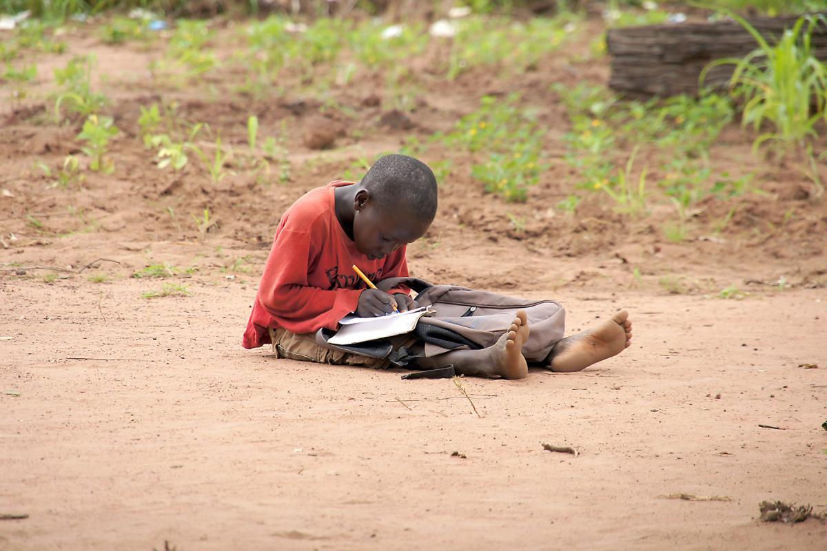 LWF-led education project for Yida refugees, South Sudan. Photo: LWF/M. Hyden