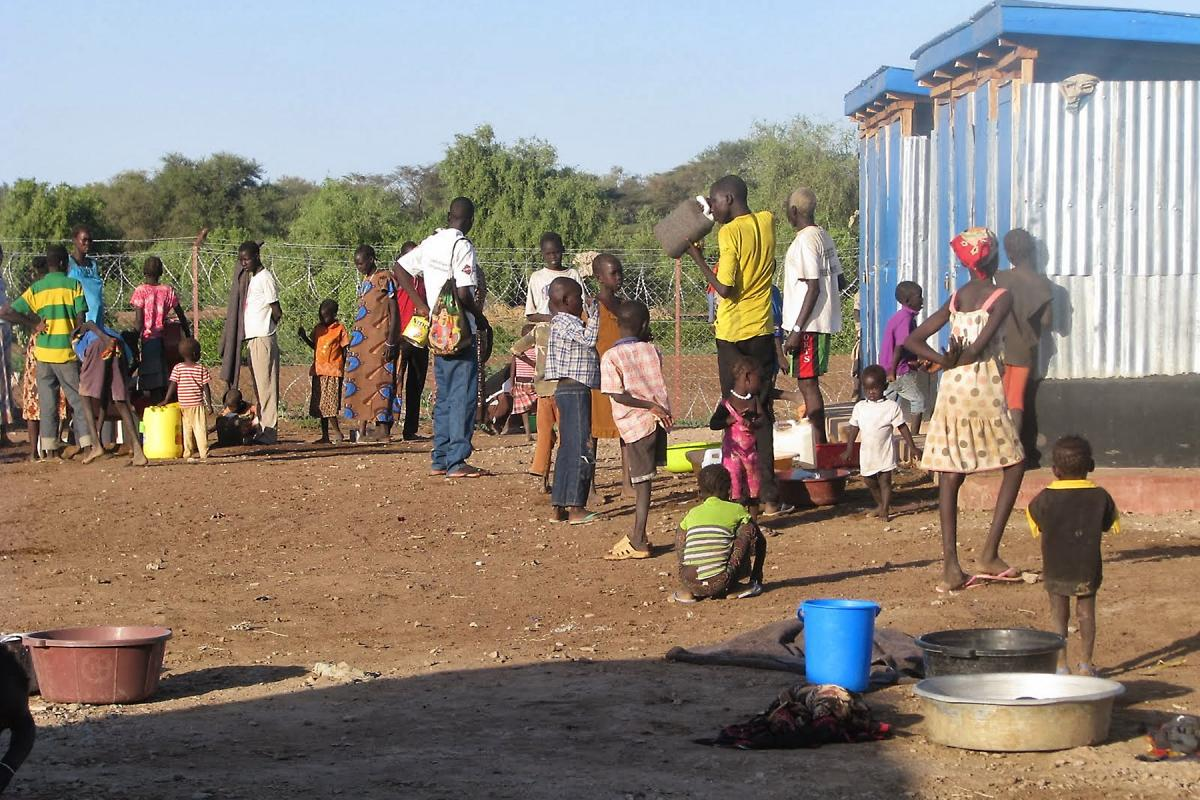 Refugees fleeing the crisis in South Sudan arrive at Kakuma camp in Kenya. Photo: LWF/J. Macharia