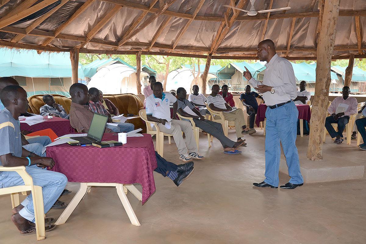 Workshop on child protection in Maban, South Sudan. Photo: LWF/ C.Kästner