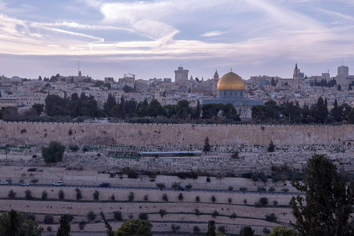 """The old city of Jerusalem. The US """"Peace to prosperity"""" plan's suggestion about the future situation of the capitals for Israel and Palestine is but one of the contested measures proposed. Photo: LWF/ A. Danielsson"""