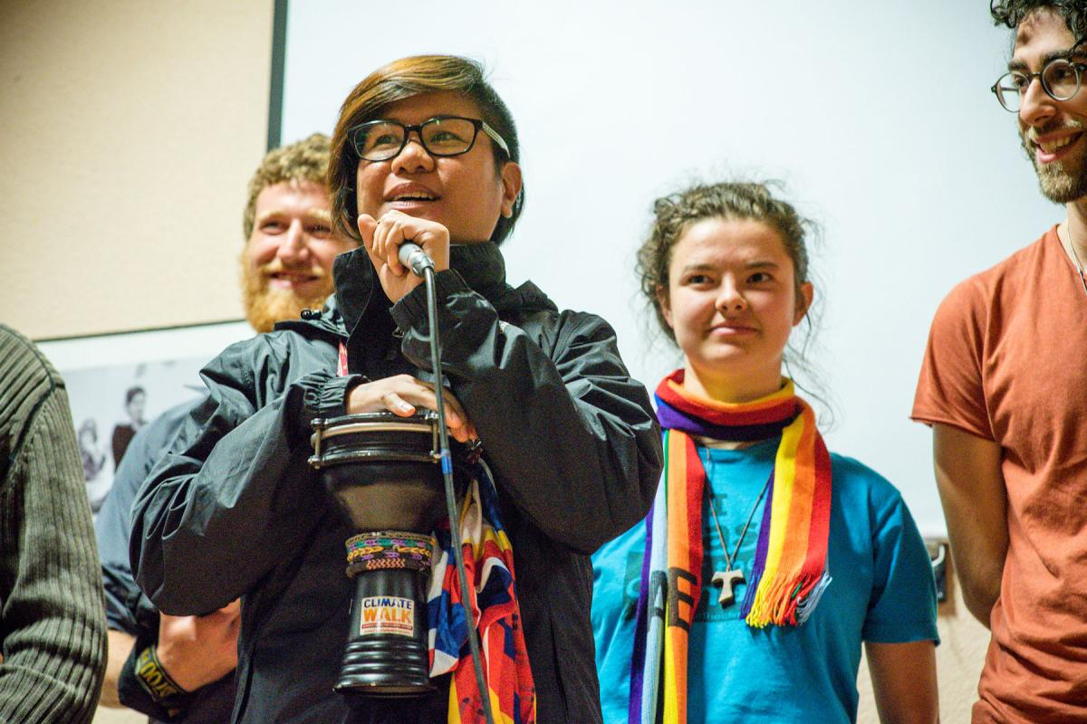 Young pilgrims gather in Taize to share their faith and advocate for environmental protection. Photo: LWF/M. Renaux