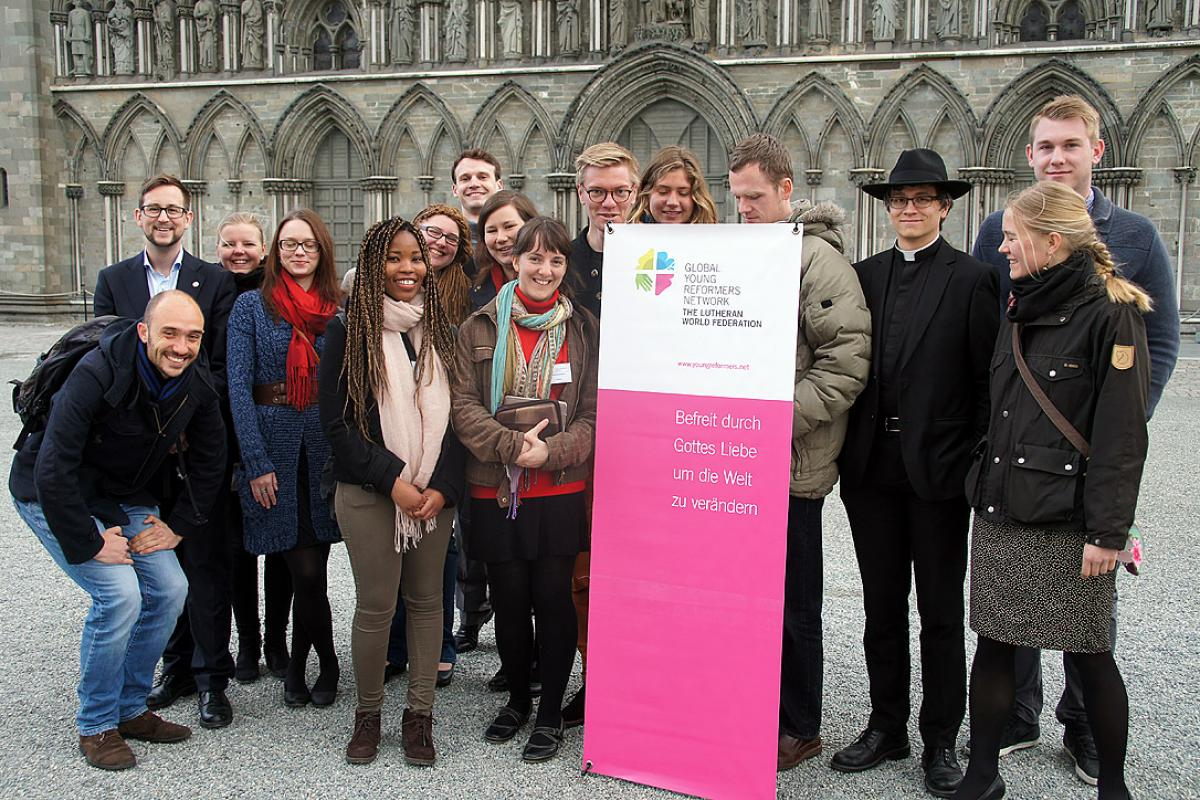 Europe's Young Reformers at their first meeting in Trondheim, Norway. Photo: LWF/C. Richter