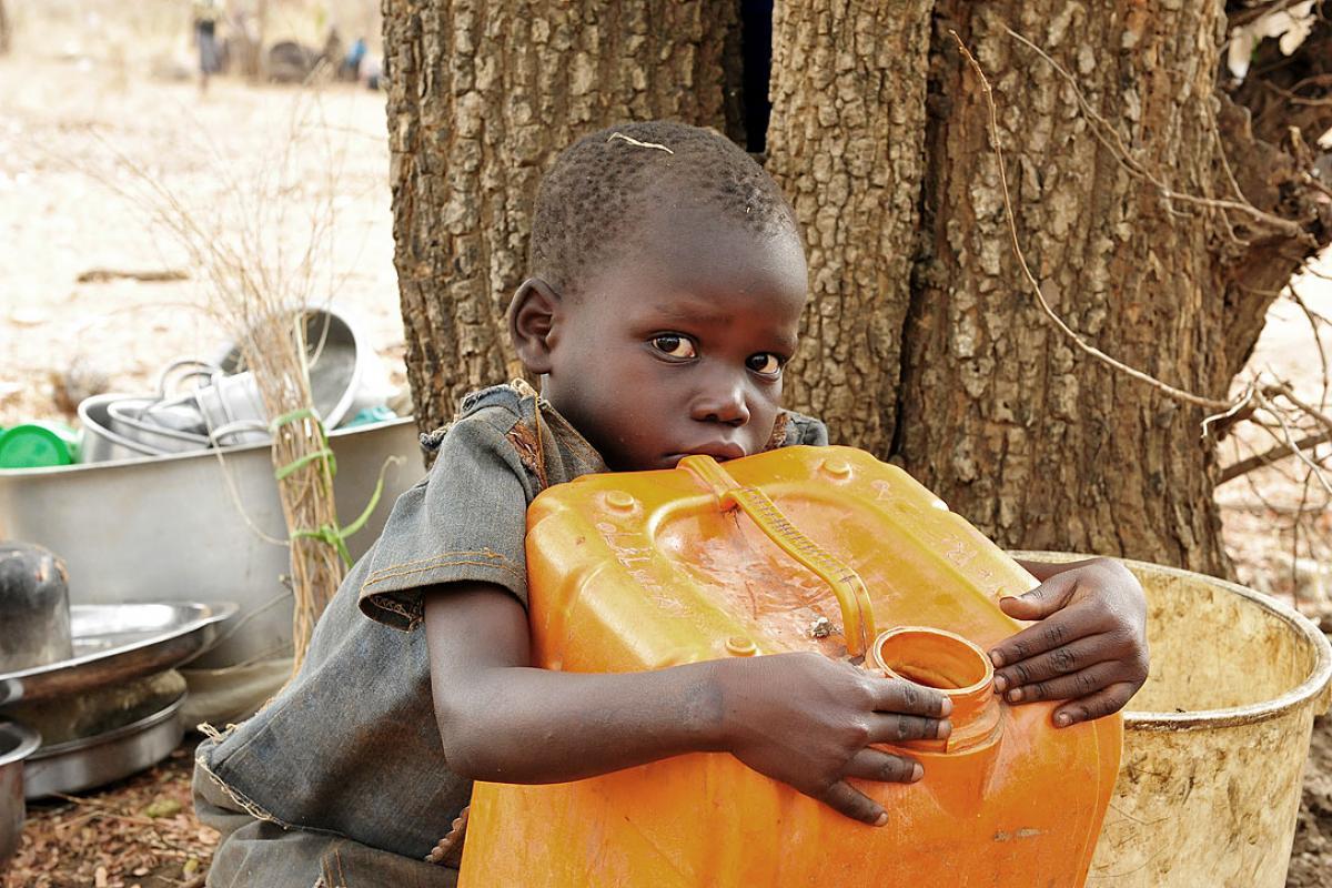 Ninety percent of the refugees are women and children. Photo: LWF/C. Kästner