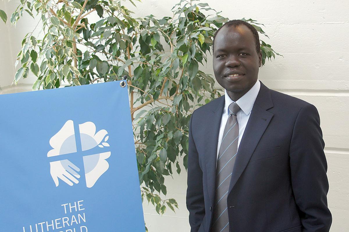 LWF advocacy officer Dr Ojot M. Ojulu. Photo: LWF/P. Mumia