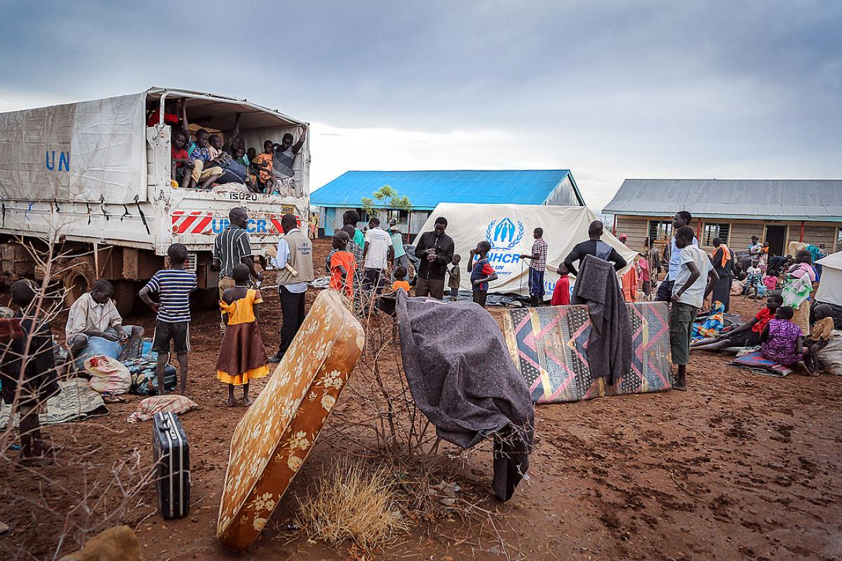 UNHCR and LWF response to South Sudanese refugees in Maban refugee camp. Photo: Mats Wallerstedt