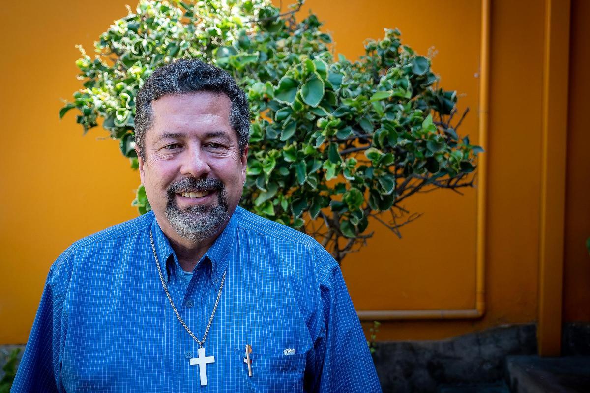 Pastor President of the IELV, Rev. Gerardo Hands  Photo: LWF/A.Danielsson