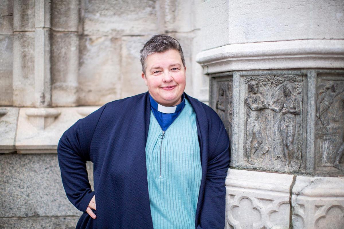 "Rev. Charlotte Frycklund serves as the Church of Sweden's ""internet priest."" Photo by: Argument/Pierre Eriksson"