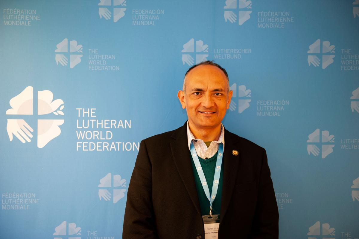 Mexican Lutheran Church Pastor President Rev. Roberto Trejo Haager. Photo: LWF/S. Gallay