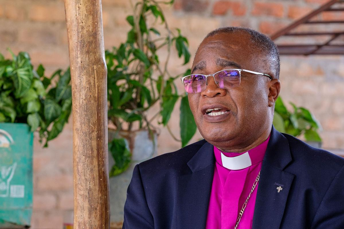 Bishop Dr Joseph Bvumbwe, head of the ELCM and president of the Lutheran Communion in Southern Africa. Photo: LWF/A. Danielsson