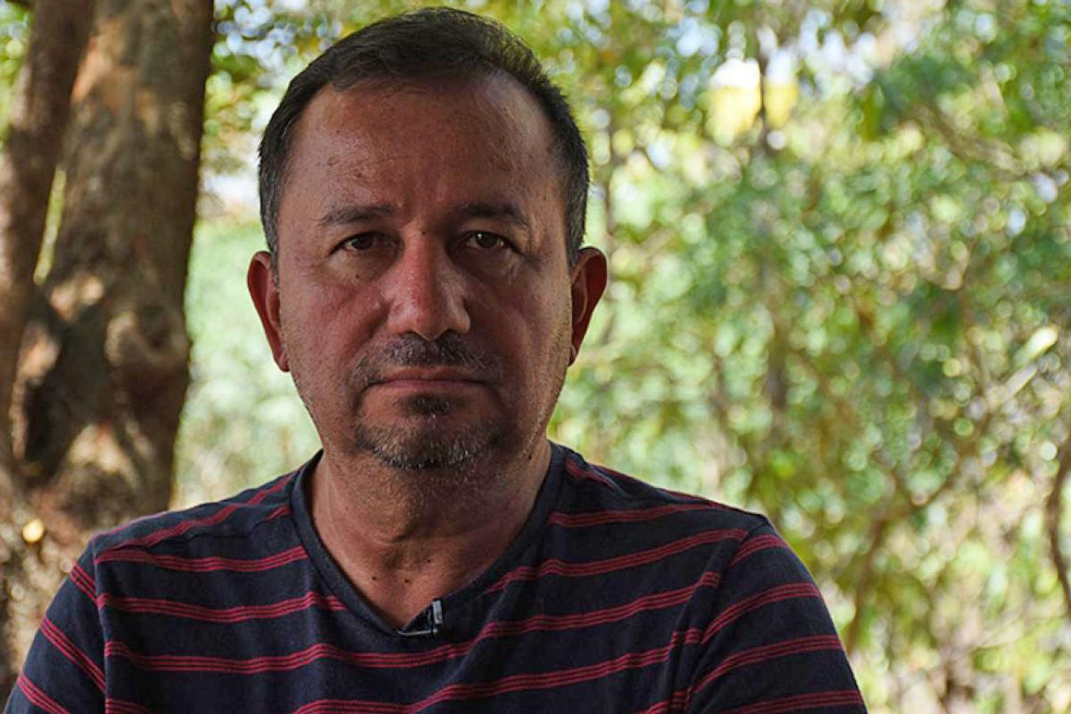 Rev. José Pilar Álvarez Cabrera (ILUGUA) has been receiving threats since the night of September 7. Photo: Nelton Rivera Community Press