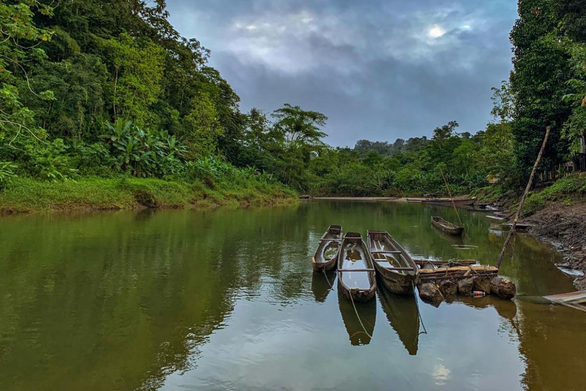 Pogue Community, Bojayá (Chocó). Photo: LWF/ G. Moreno
