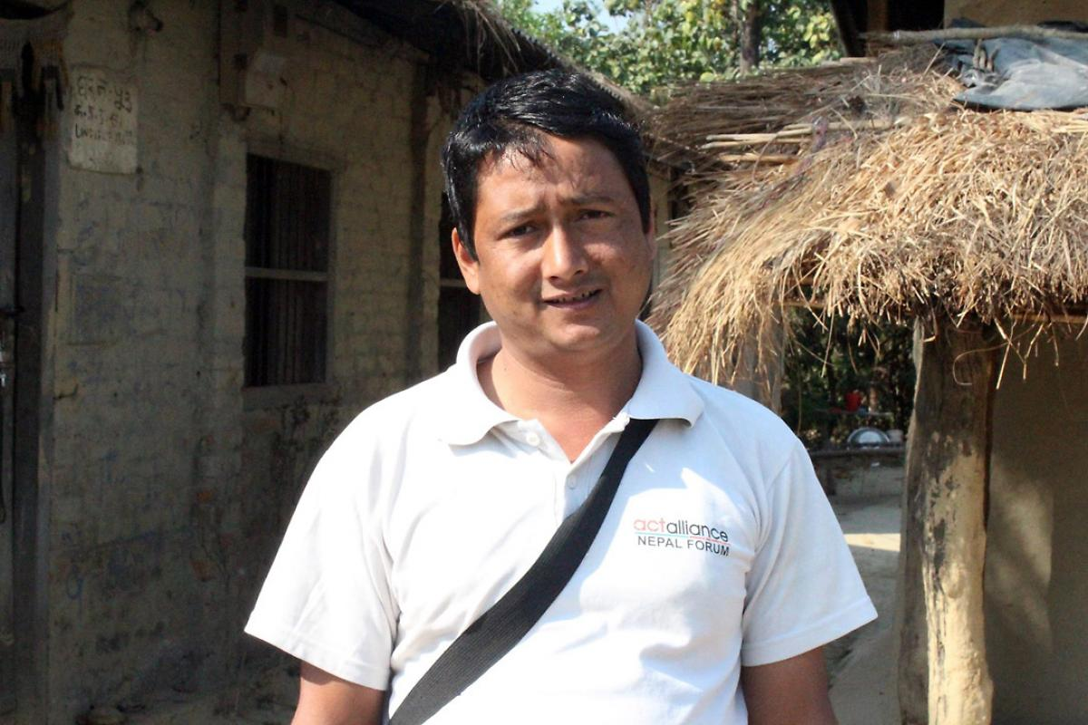 Hukum Sarki dreams of seeing the Haliya, or bonded labor system, totally eradicated. Photo: LWF Nepal