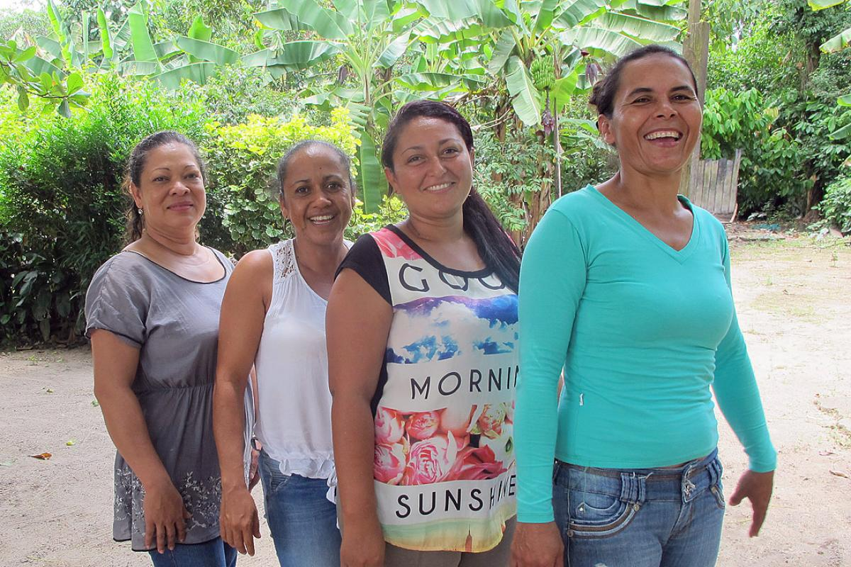 Colombian women have learnt how to demand their human rights, through AMAR. Photo: LWF Colombia