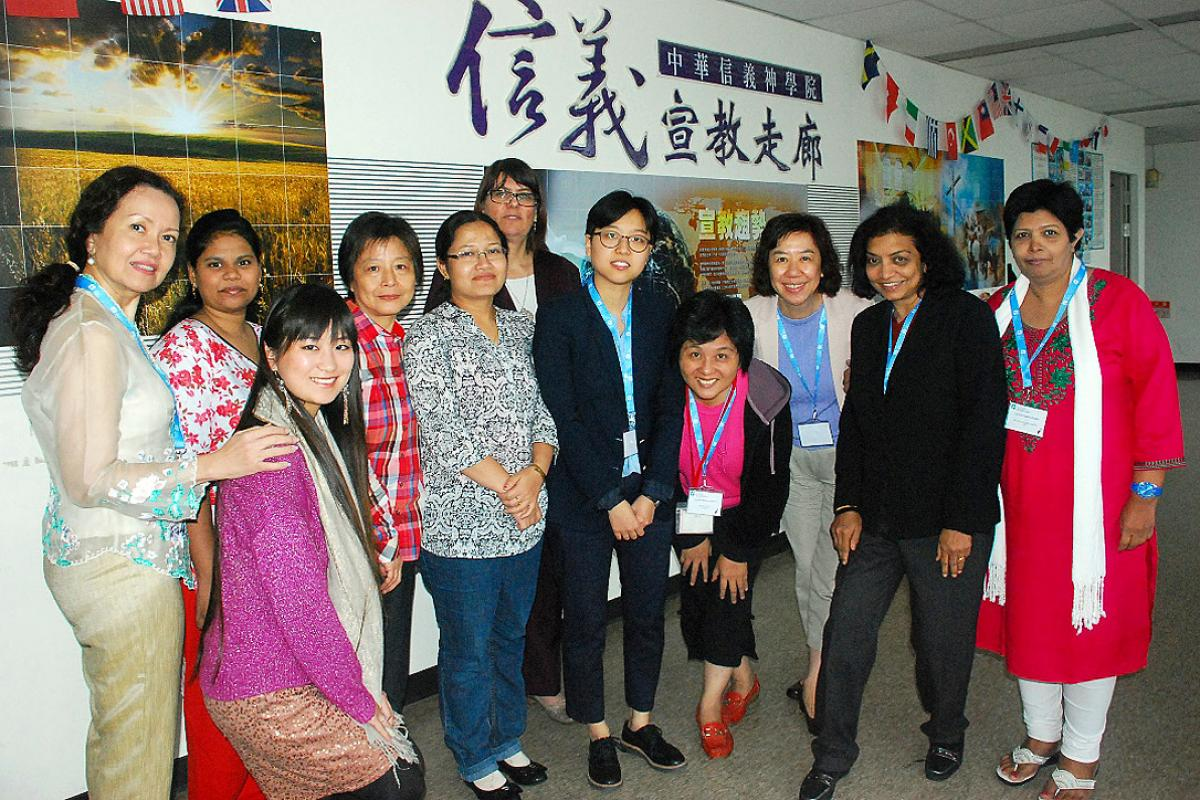 Women's meeting prior to Asia Church Leadership Consultation. Photo: LWF/Christy Chok