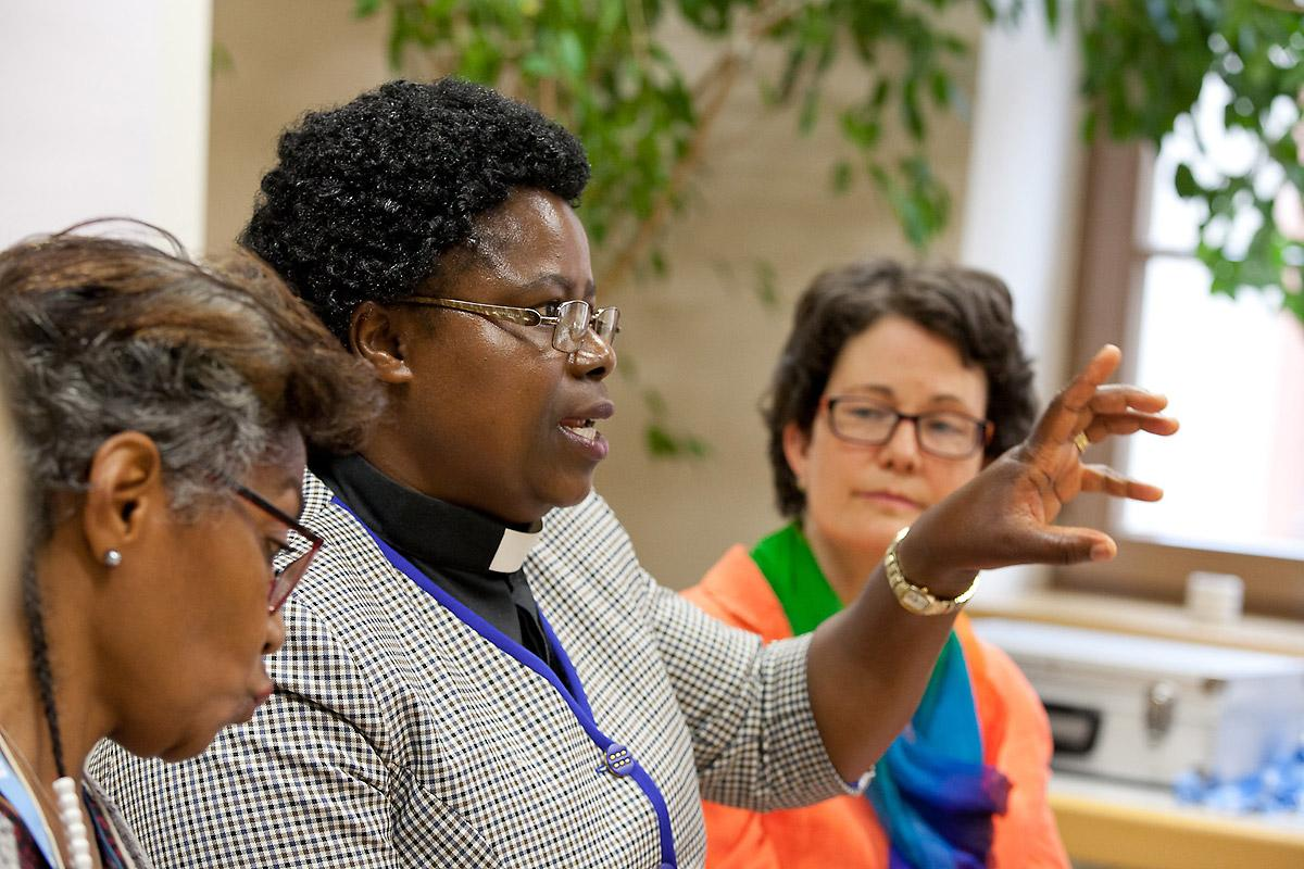 Chiropafadzo Moyo is a dean in the Evangelical Lutheran Church in Zimbabwe and the only woman with a PhD. Photo: LWF/Marco Schoeneberg