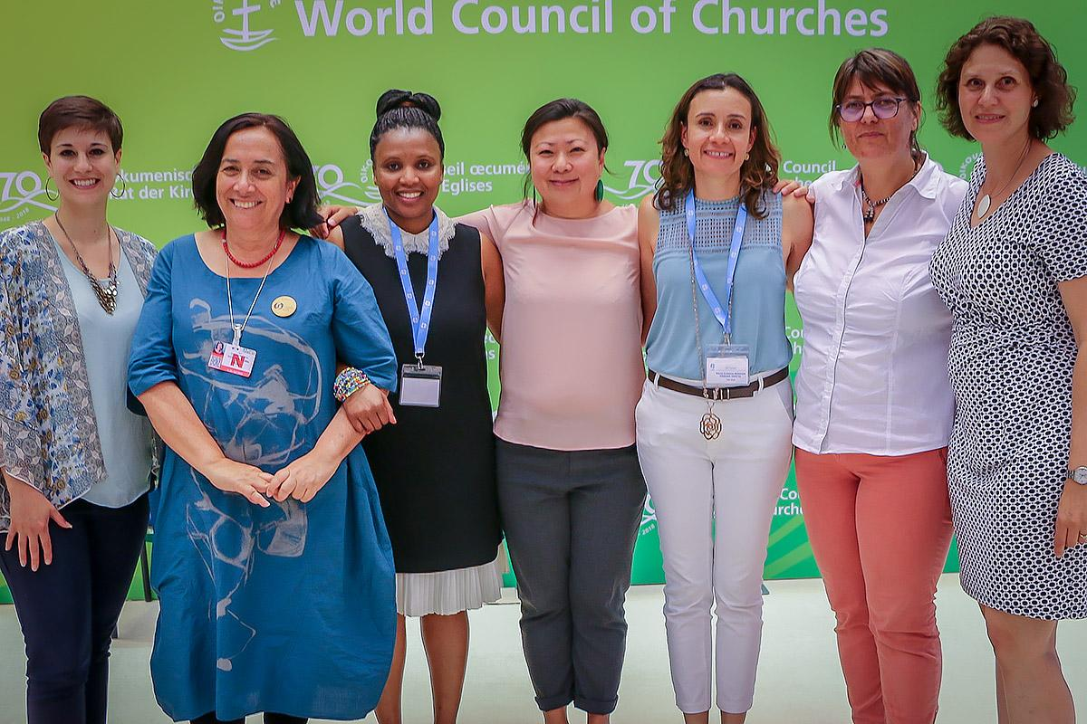 Steering committee of the Women's human rights advocacy training for faith-based organizations. Photo: LWF/George Arende